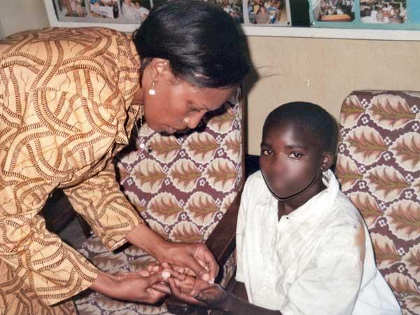 Anne-Marie, torturée en 2007