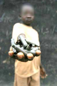 Enfant soldat démobilisé
