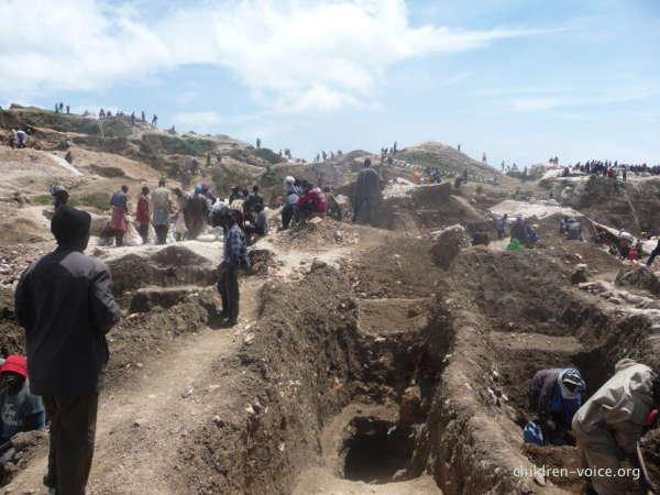 Mines de Rubaya, Nord-Kivu